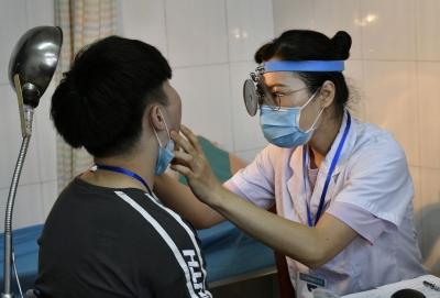 2020年丹阳征兵体检开始  不合格者主要是因为视力不达标