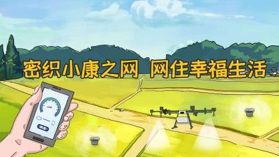 【圆梦小康】手绘 | 密织小康之网 网住幸福生活