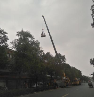 高压线路突然发生故障 南乡村民因断电生活受影响