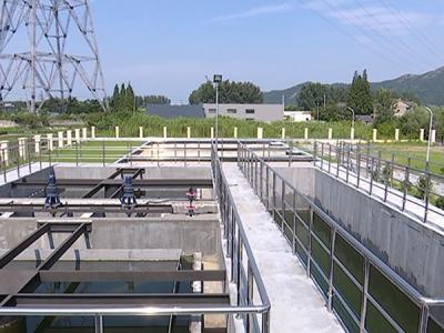 高桥镇污水处理厂项目即将完工
