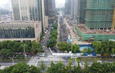 双井路北段建设工程开工 预计12月中旬建成通车