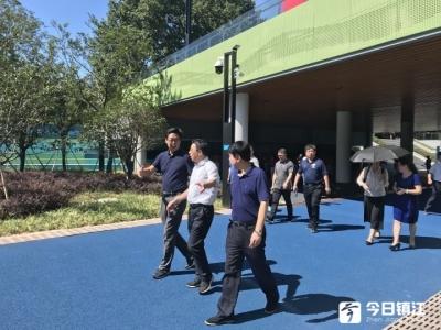省体育局党组中心组来镇江调研学习