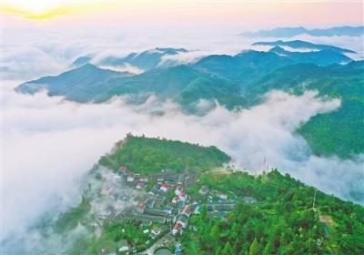 """美丽中国""""浙""""里见——写在""""绿水青山就是金山银山""""理念提出十五周年之际"""
