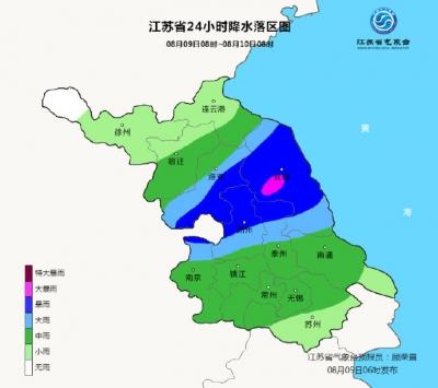 暴雨+高温!今天江苏这些地方仍有强降雨