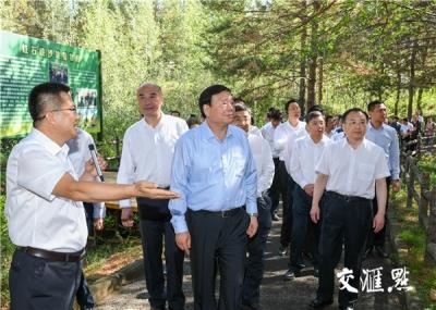 江苏省党政代表团在陕西榆林考察:相互借鉴深化合作,携手推动高质量发展