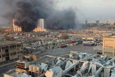 黎巴嫩贝鲁特港口爆炸事件已致158人死亡