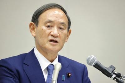 菅义伟当选日本自民党总裁