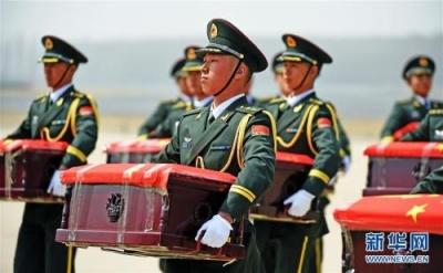 中韩将交接第七批在韩中国人民志愿军烈士遗骸