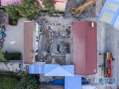 山西襄汾坍塌饭店负责人被刑拘