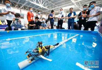 2020青岛国际海洋科技展览会开幕