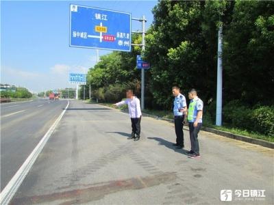 14小时,扬中交警侦破一起交通肇事逃逸案