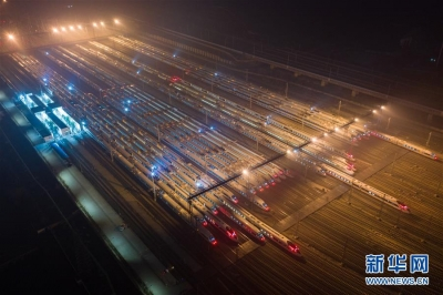 """中国高铁""""八纵八横""""已建七成"""