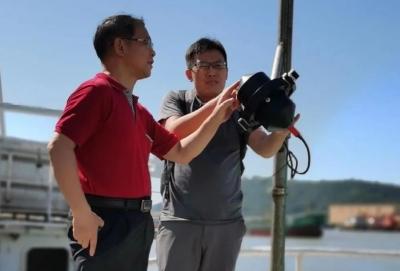 """海上""""天眼"""" HY-1D卫星在轨测试海上现场同步观测试验任务圆满完成"""