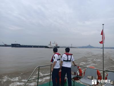 """全力保障高风险复杂水域航行安全 长江镇江段""""大沙岗亭""""投入运行"""