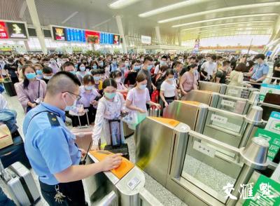长三角铁路今日计划增开列车29列,预计发送旅客210万人次