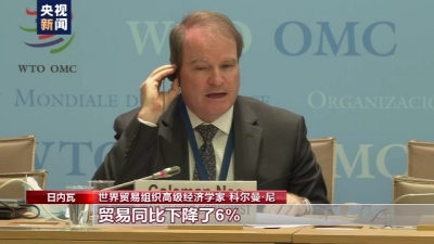 WTO报告:中国进出口为全球贸易作出贡献