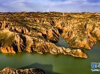 麻黄梁黄土地质公园