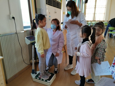 保障儿童健康!丹阳两院协作幼儿体检