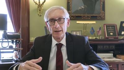 美国威斯康星州长:必须控制新冠病毒 以防医疗系统崩溃