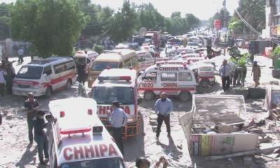 巴基斯坦卡拉奇市发生爆炸 造成至少3人死亡