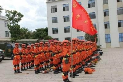 """森林消防的""""铁拳尖刀""""——记者探访云南森林消防总队特勤大队"""