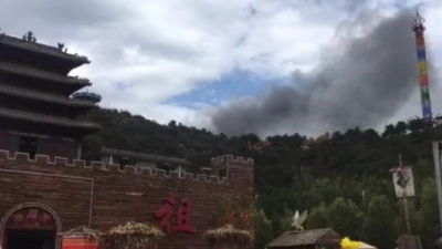 山西太原一景区发生火灾 13人遇难