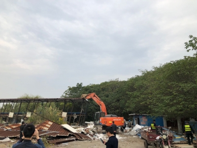 加强管控力度!镇江四区联动共集中助拆违法建设26处