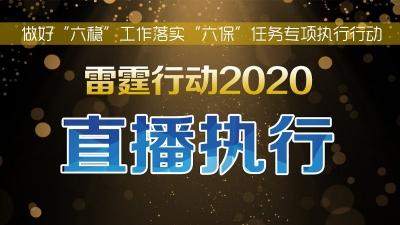"""镇江法院""""雷霆行动2020""""执行直播"""