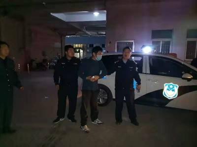 热心民警及时救助3名醉酒男子