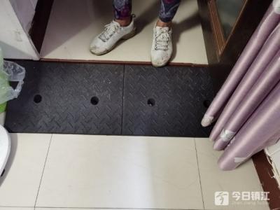 镇江京口区残联连续三年进行贫困残疾人家庭无障碍改造 73户受益