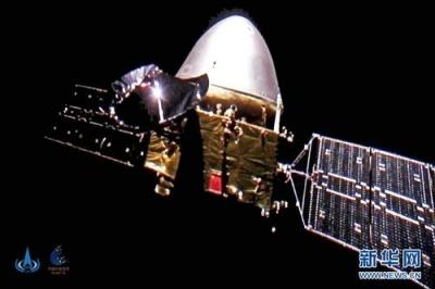 天问一号探测器飞行里程突破3亿千米