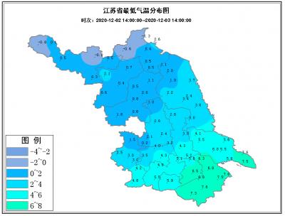 """明晨最低-4到-5℃!冷空气终究还是对江苏人""""冻手冻脚""""了!"""