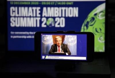 """联合国秘书长呼吁全球进入""""气候紧急状态"""""""