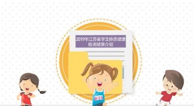 2019年江苏省学生体质健康监测结果出炉