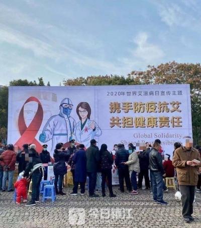 前10个月,镇江新报告HIV感染者和AIDS病人共140例 是否要检测不能片面