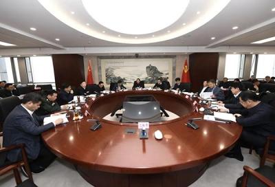 马明龙主持召开市委常委会会议 全力提升国家安全治理效能 奋力建成更高水平文明城市
