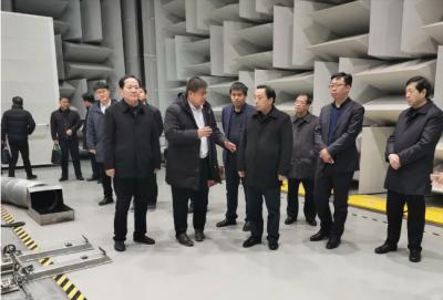 马明龙赴长城汽车股份有限公司考察