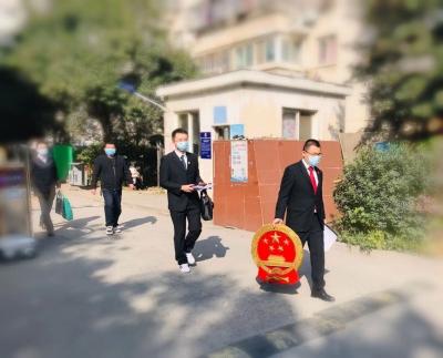 """切实减轻""""不方便""""当事人的诉累 京口法院巡回法庭:带着国徽去审判"""