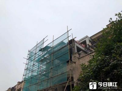 集中助拆12月行动启动,润州、京口集中拆除一批违建