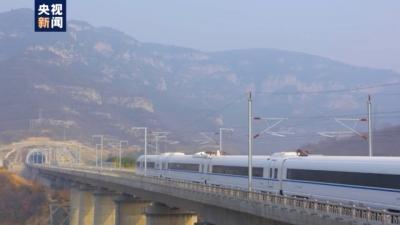 翻山越岭!首条纵贯太行山的高铁——郑太高铁开通