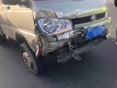 【事故车严重受损载货上高速,结果......】