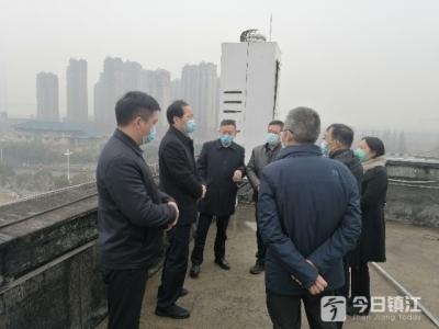 镇江市领导现场督查环保相关工作