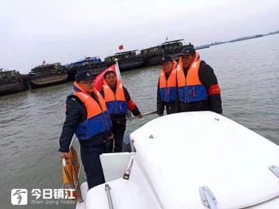 镇江开展长江十年禁渔专项执法行动