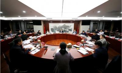 徐曙海主持召開市政府常務會議 全面推進鄉村振興 全力改善營商環境