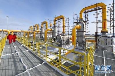 中俄东线天然气管道南段全面开工