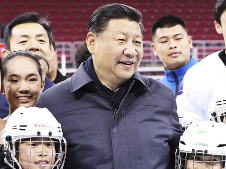 习近平:把我国冰雪运动搞上去