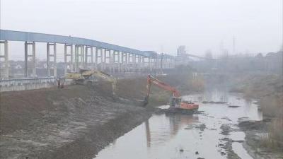丹徒区水利部门加快实施水毁修复工程
