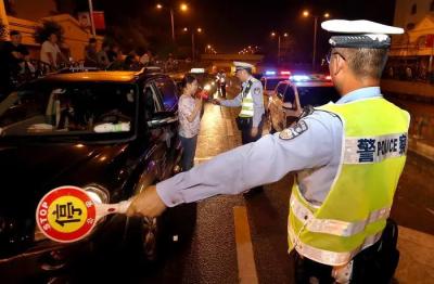 司机们注意了!元宵节全国夜查酒驾醉驾