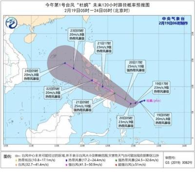 """最强10级,今年1号台风""""杜鹃""""来了!网友:来得猝不及防"""