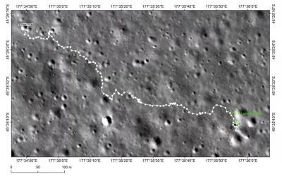 """嫦娥四号进入第27月昼,将择机为撞击坑""""拍彩照"""""""